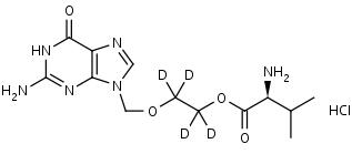 Valacyclovir-d4_HCl - Product number:130644