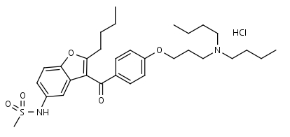 Dronedarone_HCl - Product number:110647