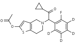 Prasugrel-d4 - Product number:130646