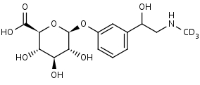 _R_S_-Phenylephrine-d3_Glucuronide - Product number:140672