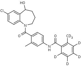 Tolvaptan-d7 - Product number:130687