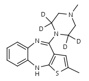 Olanzapine-d4 - Product number:130690