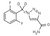 Rufinamide-15N_d2 - Product number:130693