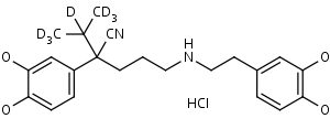 N-Desmethylverapamil-d7_HCl - Product number:140192