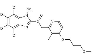 Rabeprazole-d4_Sodium_Salt - Product number:130696