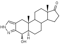 4_____-Hydroxy-2_H-5__-androst-2-eno_3_2-c_pyrazol-17-one - Product number:120701