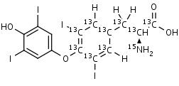 Thyroxine-13C9_15N - Product number:130697