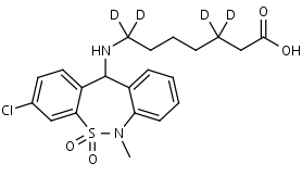 Tianeptine-d4 - Product number:130711