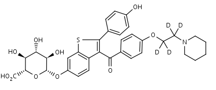 Raloxifene-d4_6-Glucuronide - Product number:140716