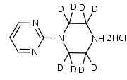 1-_2-Pyrimidyl_piperazine-d8_Dihydrochloride - Product number:140732