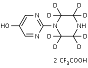 1-_5-Hydroxy-2-pyrimidinyl_piperazine-d8_Bis_trifluoroacetate_ - Product number:140730