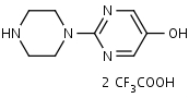 1-_5-Hydroxy-2-pyrimidinyl_piperazine_Bis_trifluoroacetate_ - Product number:120729