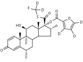 Fluticasone_Furoate-d5 - Product number:130718
