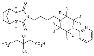Tandospirone-d8_Citrate - Product number:130723