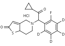 2-Oxoprasugrel-d4_HCl - Product number:140748