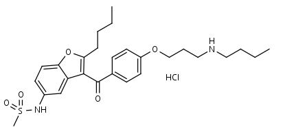 N-Desbutyldronedarone_HCl - Product number:120772