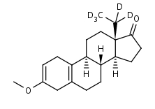13__-Ethyl-d5-3-methoxy-2_5_10_-gonadien-17-one - Product number:130779