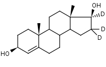 4-Androstene-3___17__-diol-d3 - Product number:140783