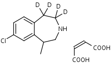 Lorcaserin-d4_Maleate - Product number:130786